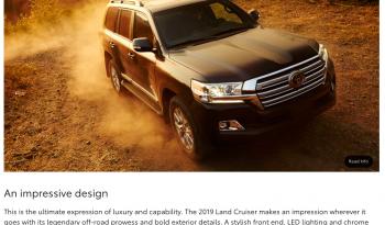 2019 Toyota Land Cruiser ZX full